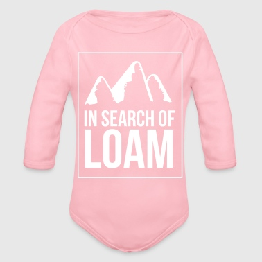 In search of loam - Organic Long Sleeve Baby Bodysuit