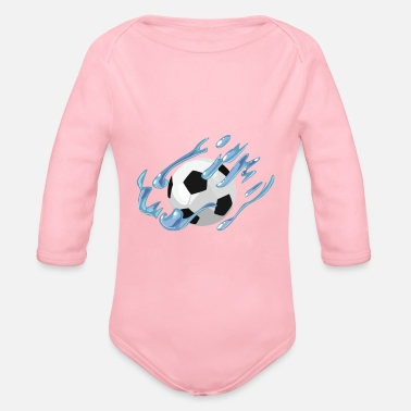 Soccer Ball Soccer Ball - Organic Long Sleeve Baby Bodysuit