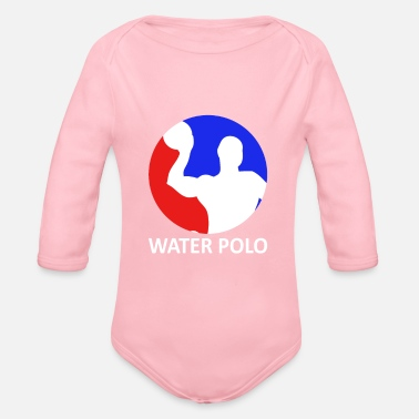 Water polo - Organic Long Sleeve Baby Bodysuit