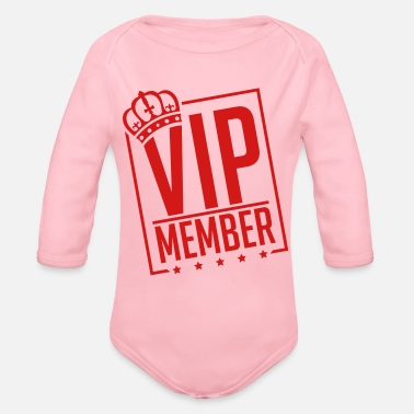 vip_member_by1 - Organic Long-Sleeved Baby Bodysuit