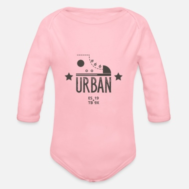 Urban Urban - Organic Long-Sleeved Baby Bodysuit