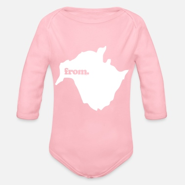 from new brunswick - Organic Long Sleeve Baby Bodysuit