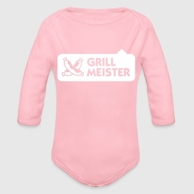 Grillmeister - Organic Long Sleeve Baby Bodysuit