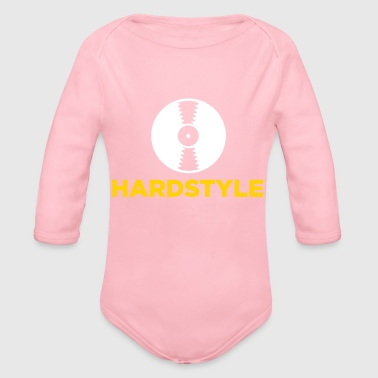Hardstyle Music! - Organic Long Sleeve Baby Bodysuit