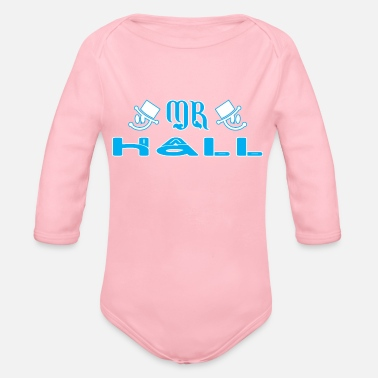 Hall Mr Hall - Organic Long-Sleeved Baby Bodysuit