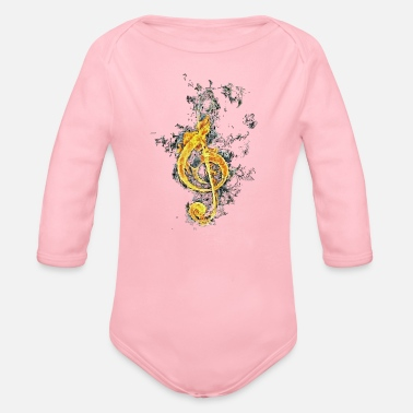 Official Person Official Sikz - Organic Long Sleeve Baby Bodysuit