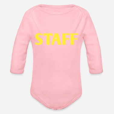 Staff STAFF - Organic Long Sleeve Baby Bodysuit