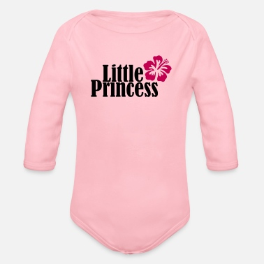 little princess - Organic Long-Sleeved Baby Bodysuit