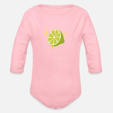 Make Lemonade When Life Gives You Lemons - Organic Long-Sleeved Baby Bodysuit