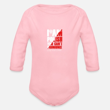 Polish Polish - Organic Long-Sleeved Baby Bodysuit