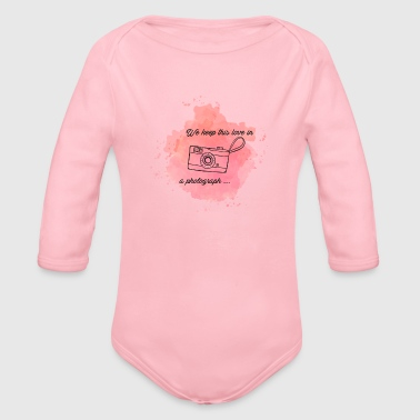 Stains Stains - Organic Long Sleeve Baby Bodysuit
