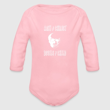 Antichrist Devil's Child - Organic Long Sleeve Baby Bodysuit