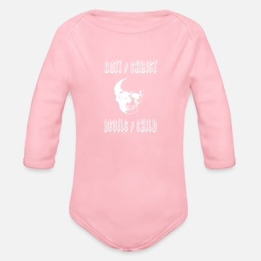 Antichrist Antichrist Devil's Child - Organic Long Sleeve Baby Bodysuit