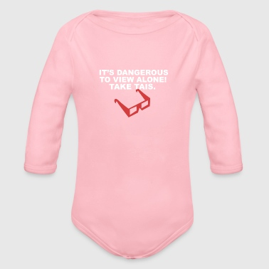 Take This - Organic Long Sleeve Baby Bodysuit