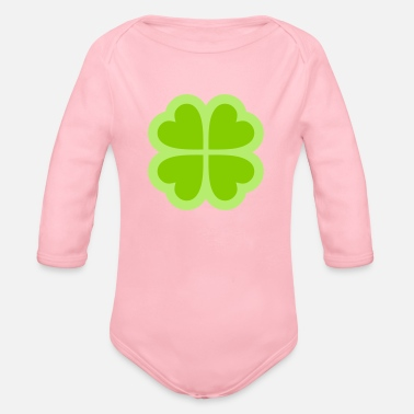 Electricity Symbol - Organic Long Sleeve Baby Bodysuit