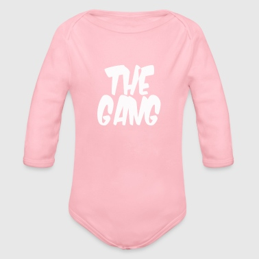 Gang the gang - Organic Long Sleeve Baby Bodysuit