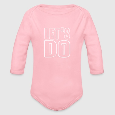 motivated - Organic Long Sleeve Baby Bodysuit