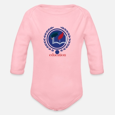 Education-culture Education - Organic Long-Sleeved Baby Bodysuit