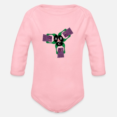 New Design NEWS design - Organic Long-Sleeved Baby Bodysuit
