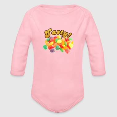 Tasty - Organic Long Sleeve Baby Bodysuit