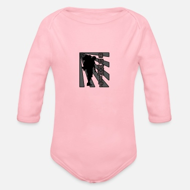 Summit Summit climbing - Organic Long-Sleeved Baby Bodysuit