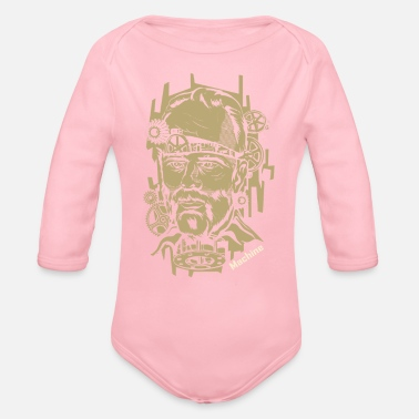 Machine Machine - Organic Long Sleeve Baby Bodysuit