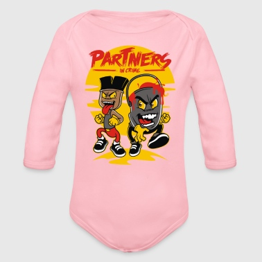 Partner PARTNERS - Organic Long Sleeve Baby Bodysuit