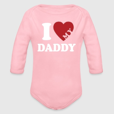 Fathers Day - Organic Long Sleeve Baby Bodysuit