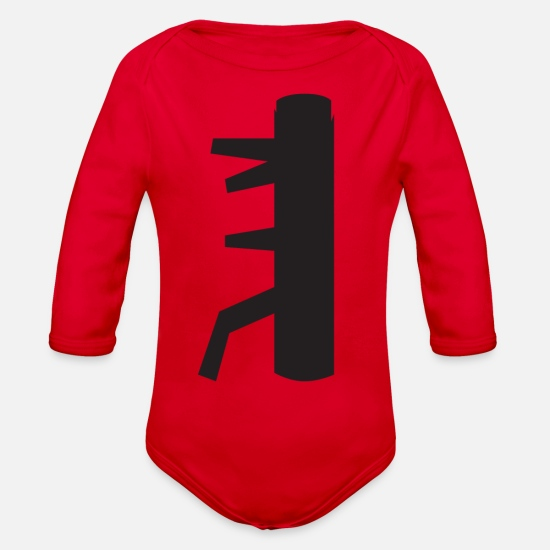 The Secret of the WING CHUN Dummy Organic Long-Sleeved Baby