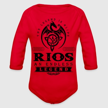 RIOS - Organic Long Sleeve Baby Bodysuit