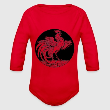 The Rooster - Organic Long Sleeve Baby Bodysuit