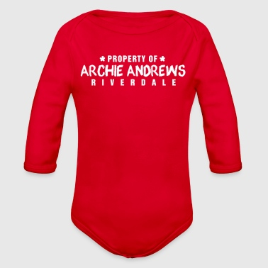 Archie Property of Archie Andrews - Organic Long Sleeve Baby Bodysuit