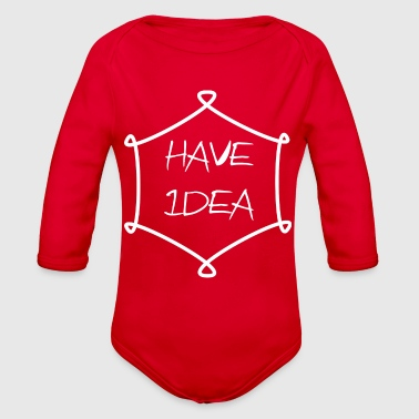 Have Idea - Organic Long Sleeve Baby Bodysuit