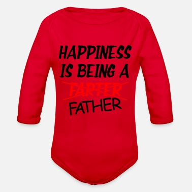New Father Father New - Organic Long-Sleeved Baby Bodysuit