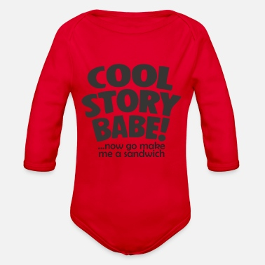 Cool Story Cool Story Babe - Organic Long-Sleeved Baby Bodysuit