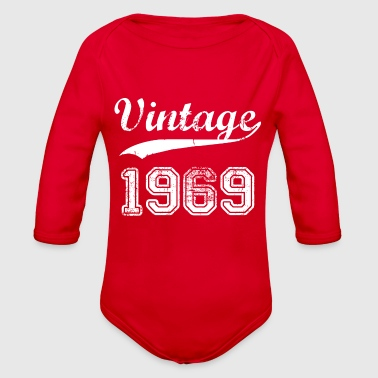 1969 1969 - Organic Long Sleeve Baby Bodysuit