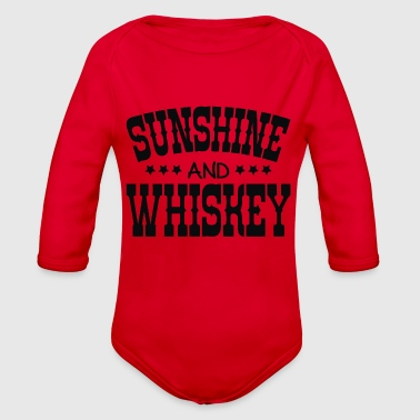 Sunshine and Whiskey - Organic Long Sleeve Baby Bodysuit