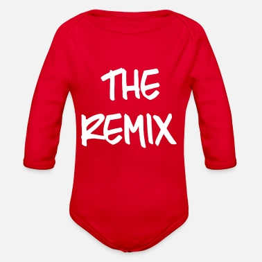 Original REMIX - Organic Long-Sleeved Baby Bodysuit