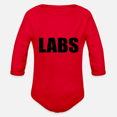 Lab LABS - Organic Long Sleeve Baby Bodysuit