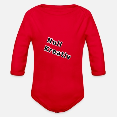 Null null - Organic Long-Sleeved Baby Bodysuit