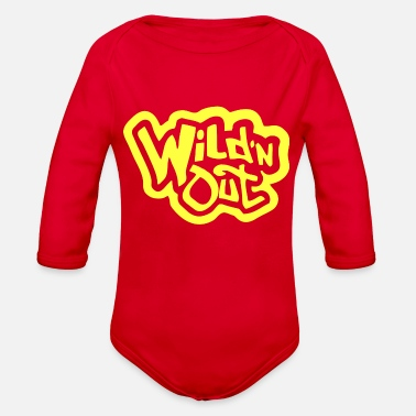 Wild wild and out - Organic Long-Sleeved Baby Bodysuit