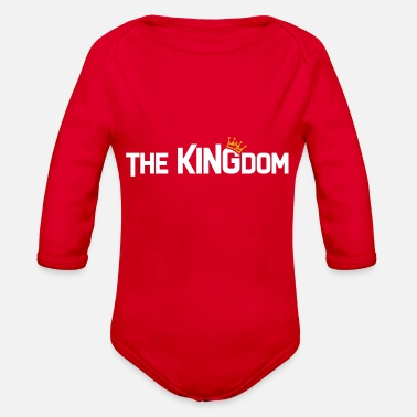 Kingdom Kingdom - Organic Long-Sleeved Baby Bodysuit