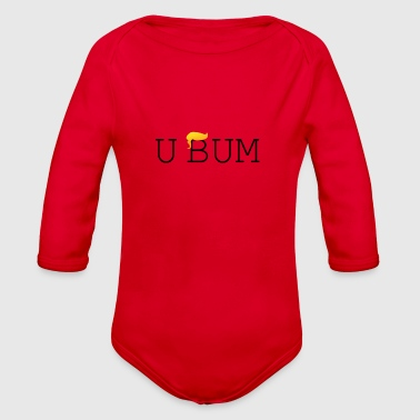 Bum U Bum - Organic Long Sleeve Baby Bodysuit