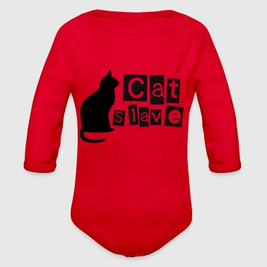 Cat Slave - Organic Long Sleeve Baby Bodysuit