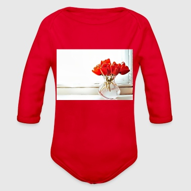 Occasion 32 Birthday - Special Occasions - Organic Long Sleeve Baby Bodysuit