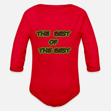 Best Of THE BEST OF THE BEST - Organic Long-Sleeved Baby Bodysuit