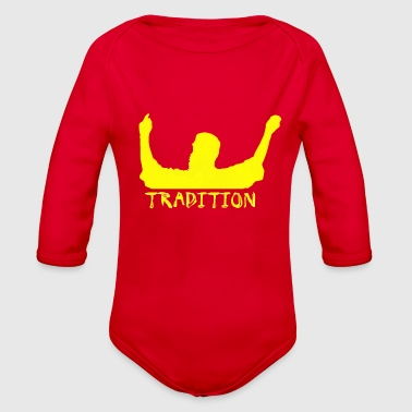 Tradition tradition - Organic Long Sleeve Baby Bodysuit