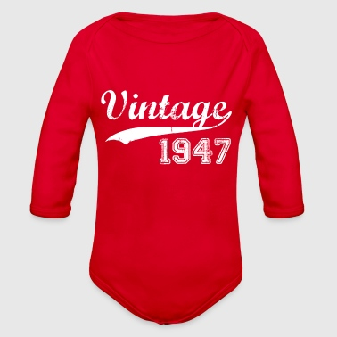1947 - Organic Long Sleeve Baby Bodysuit