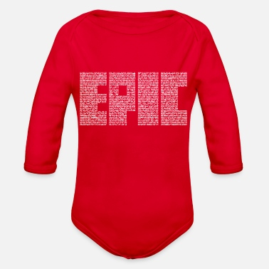 Epic Epic - Organic Long-Sleeved Baby Bodysuit