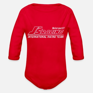 Motor Race Motor Racing - Organic Long-Sleeved Baby Bodysuit